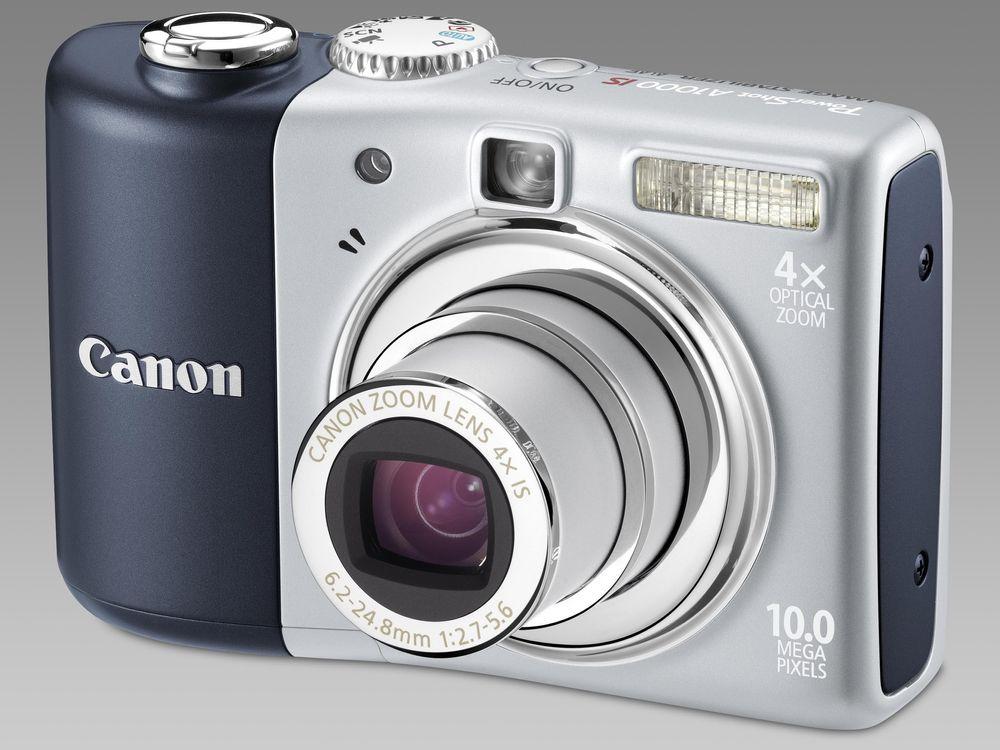 Canon Powershot A1000 IS - første premie i Julekalenderen på tu.no. Nye, flotte premier hver dag!