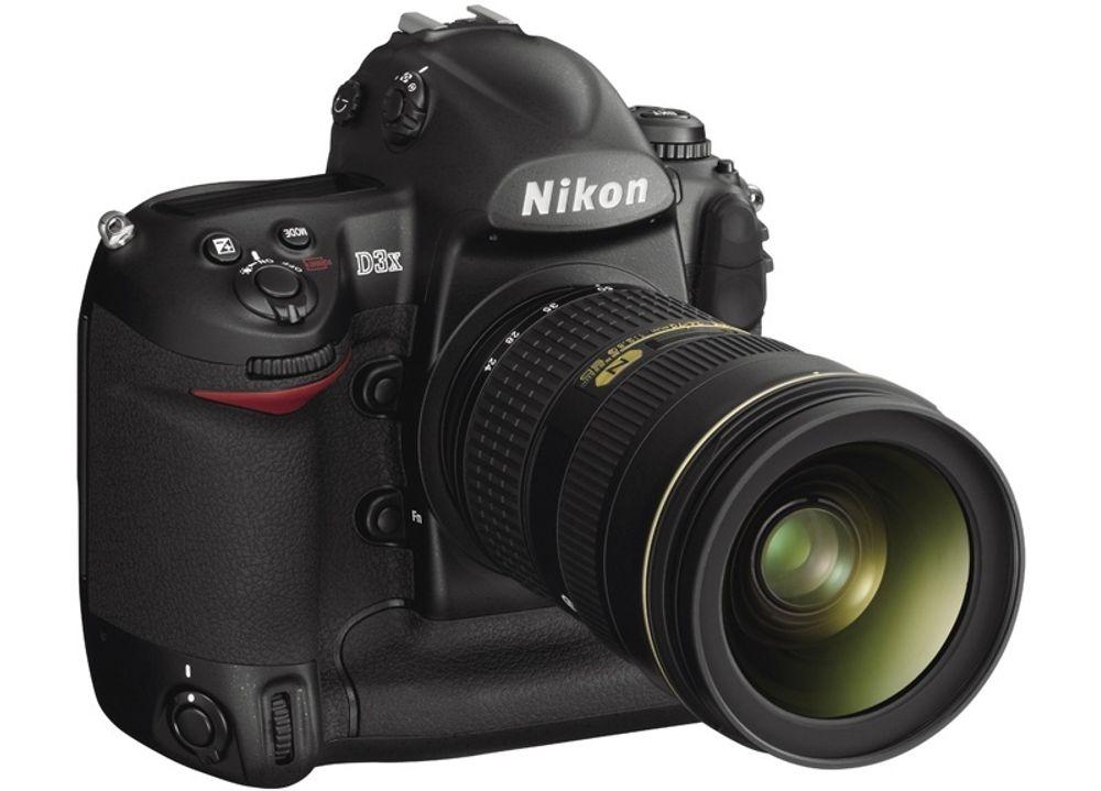 NYTT: Nikon D3x skal være i butikkene før jul.