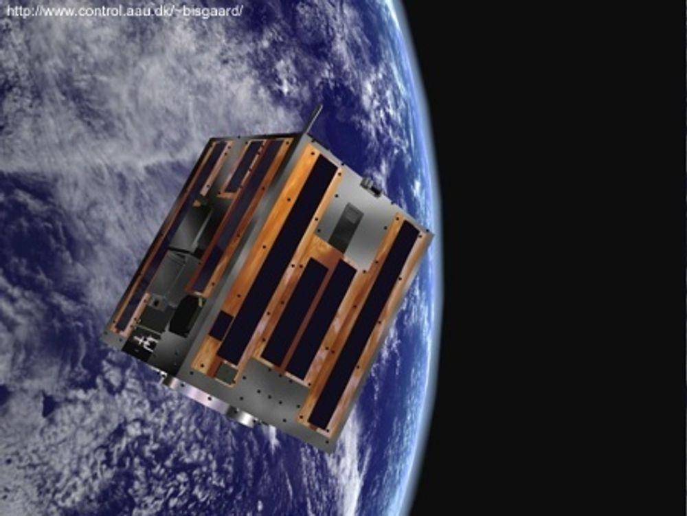 FELLESSKAP: Studenter fra 15 universiteter i forskjellige land deltar i arbeidet med European Student Moon Orbiter (ESMO). Dette blir den første studentbygde satellitten som skal gå i bane rundt månen. Satellitten skal sende bilder av måne n tilbake til jorda og som studentene skal bruke i sitt videre arbeid.