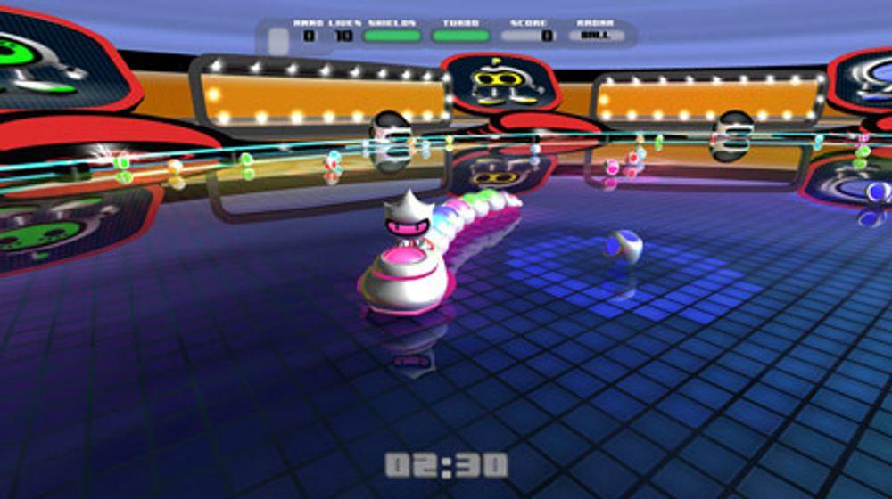Fra spillet Snakeball, som norske Ravn Studio har utviklet for Playstation 3.