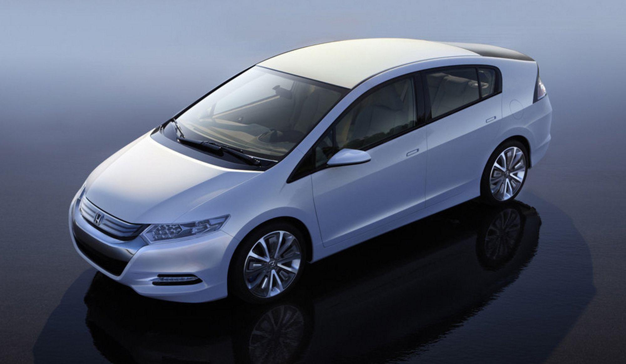 Hondas Insight topper salgslistene i Japan. Den har vært på markedet der siden februar.
