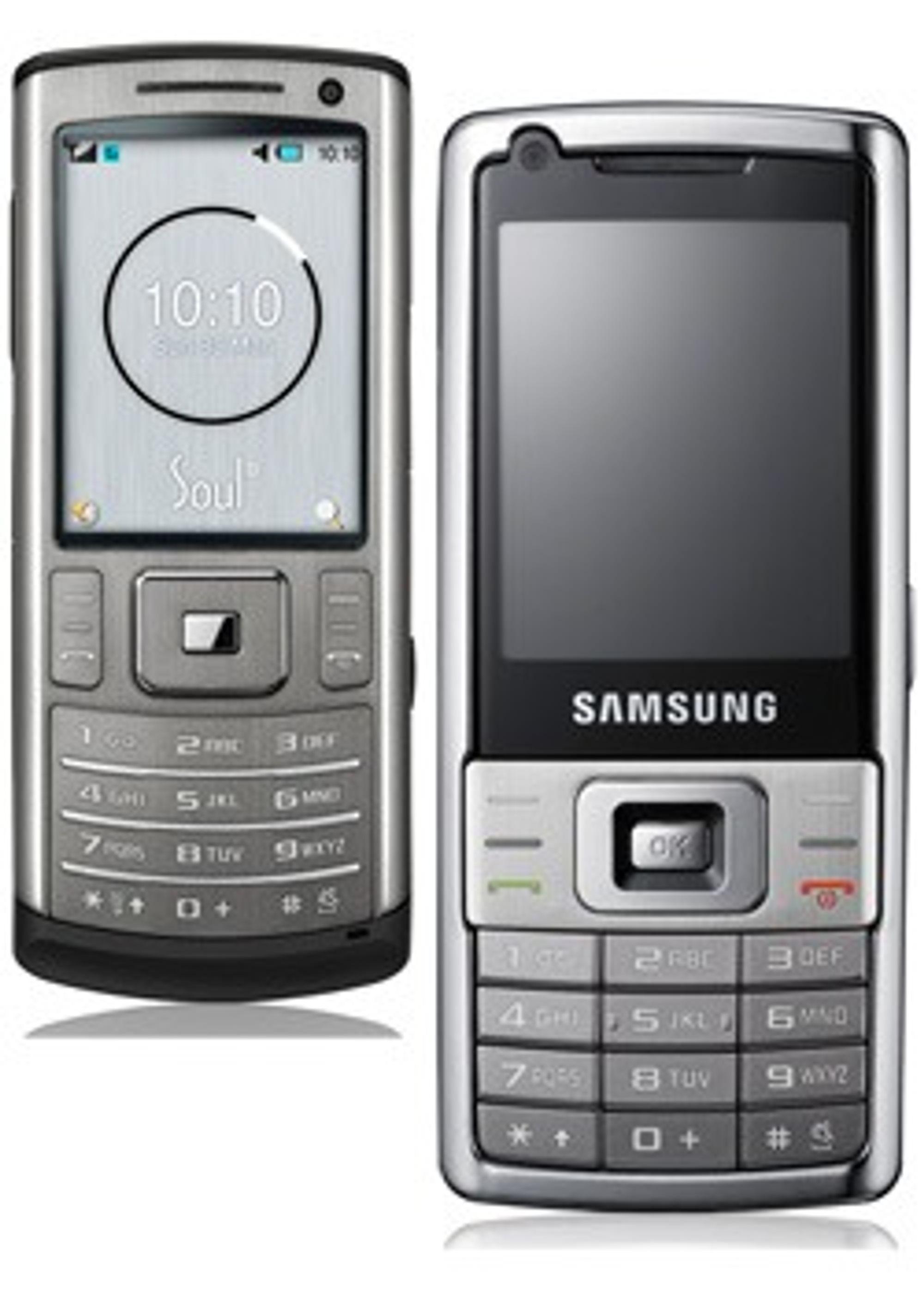 Samsung SoulB og L700.