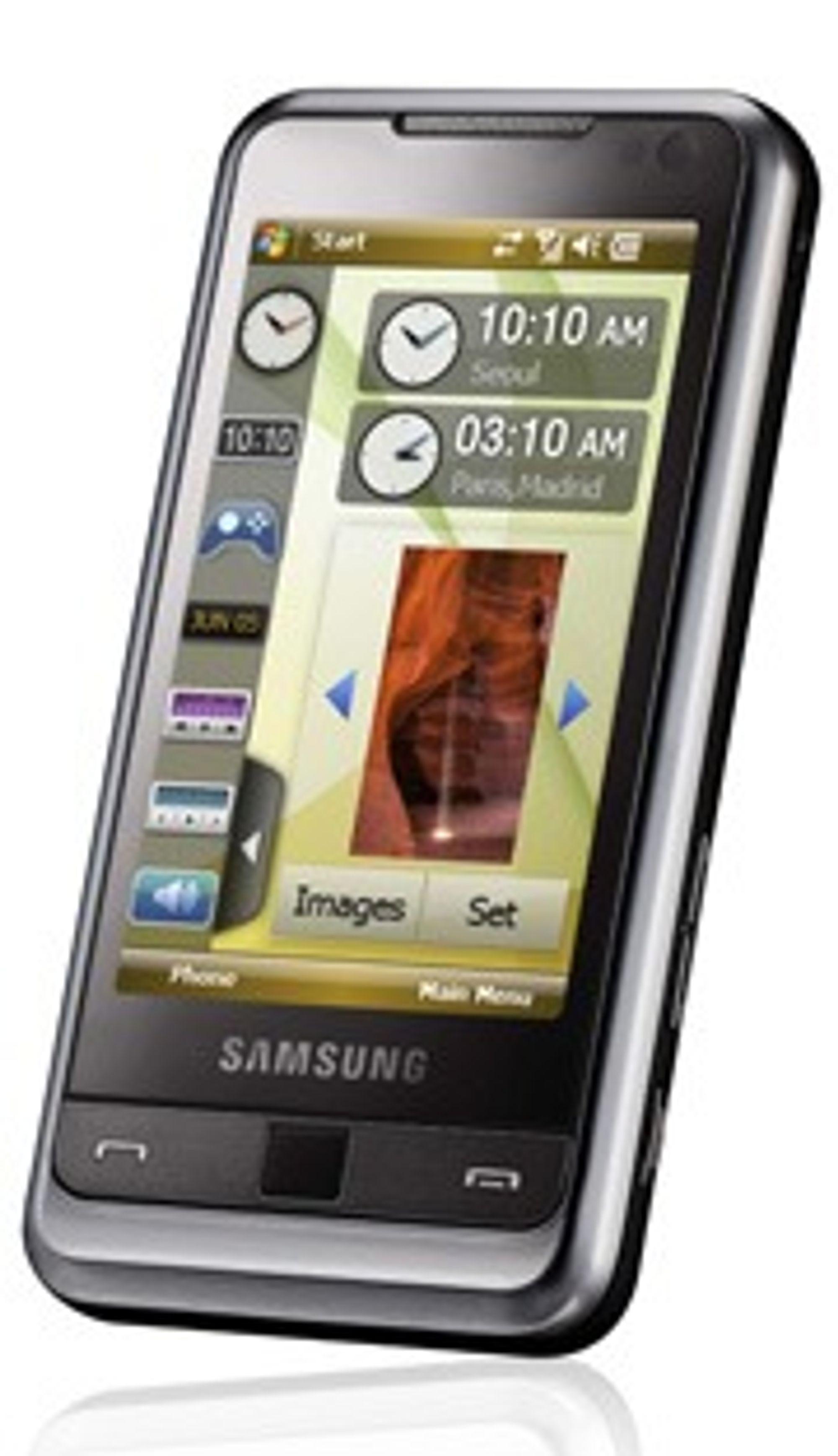 Samsung Omnia.
