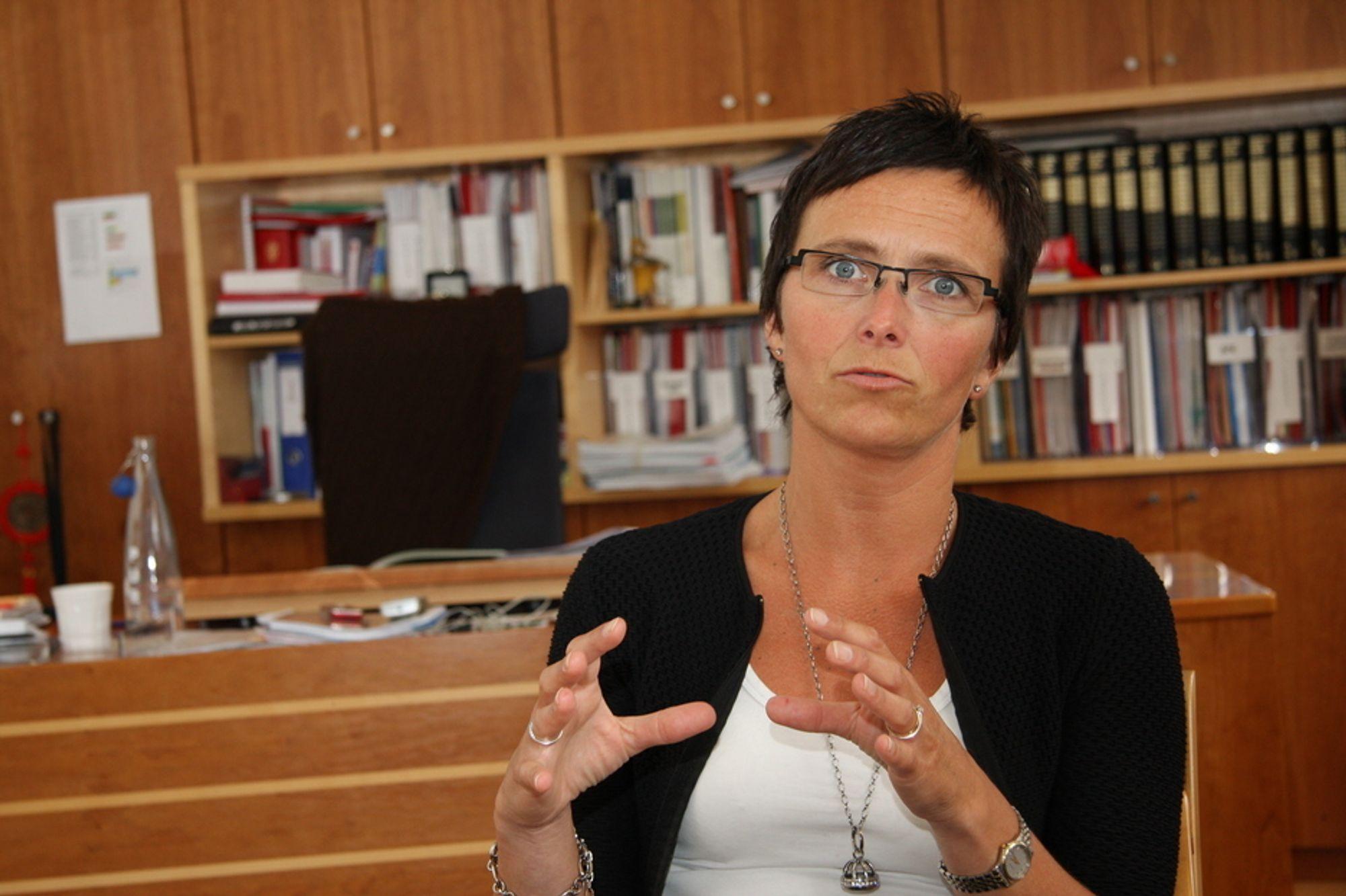 Fornyingsminister Heidi Grande Røys har sikret seg 80 millioner kroner til utvikling av en felles påloggingsløsning til offentlige nettjenester.