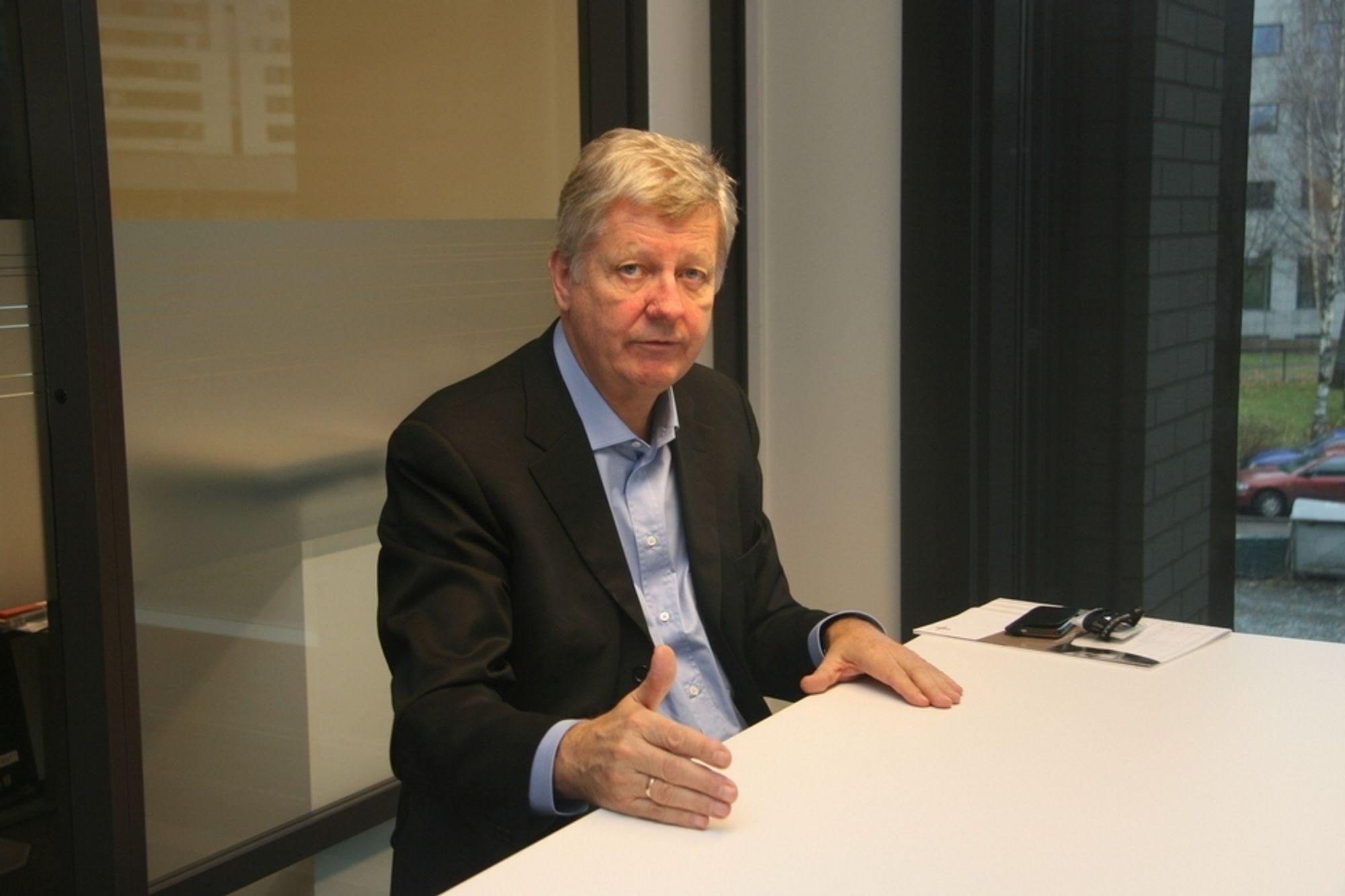 INDUSTRI: Håkon Sannum vil at Multiconsult skal være med å konikurrere om industrijobber i større grad enn i dag.