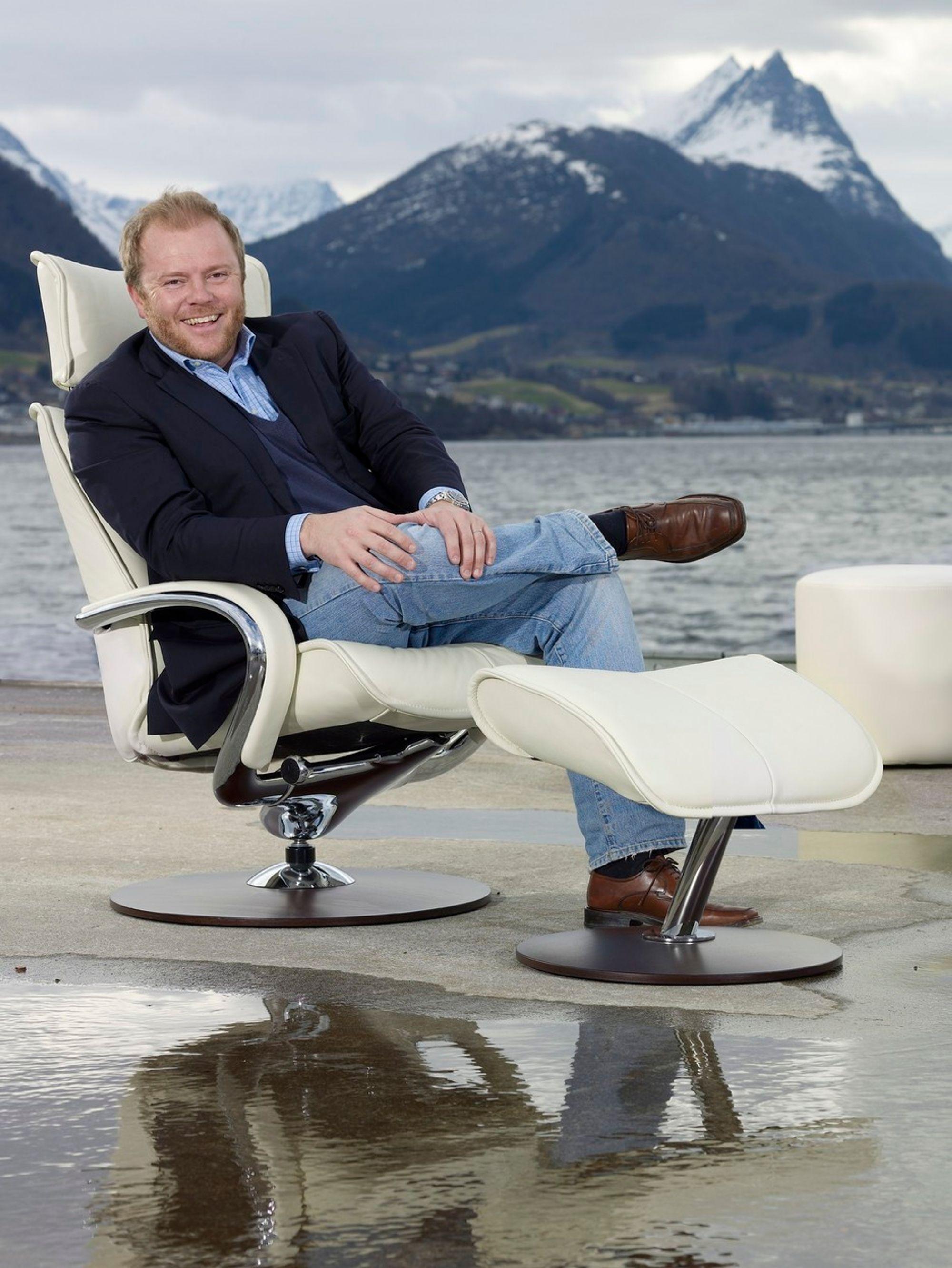 Administrerende direktør Olav Inge Røyseth i Hjellegjerde får ikke Interstil inn som ny eier i selskapet.