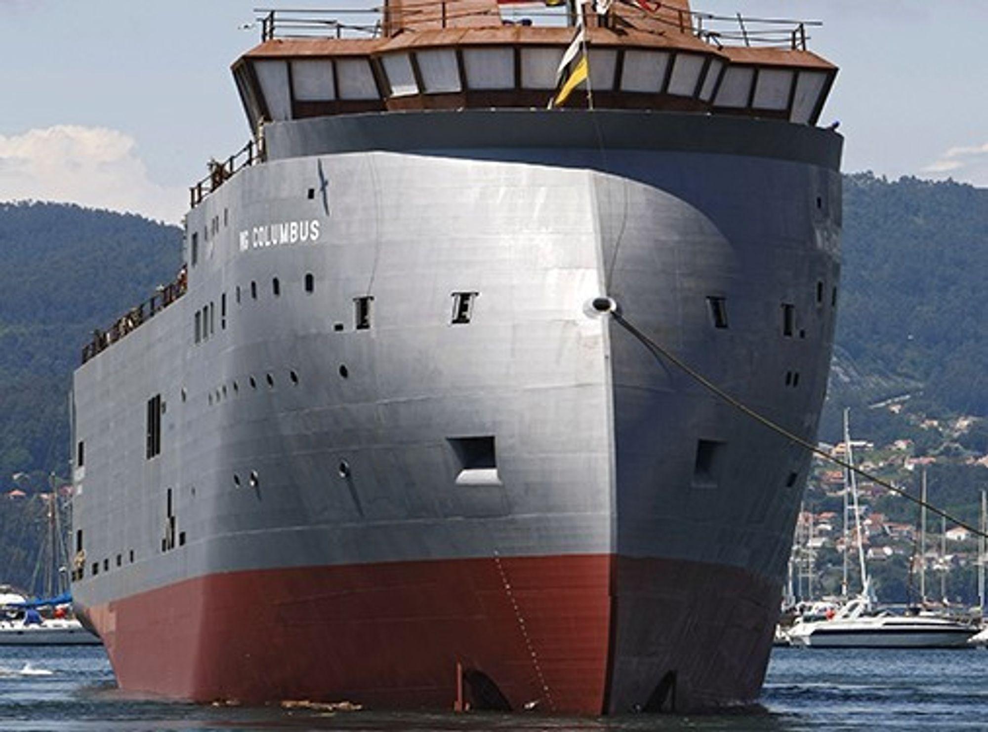 Ulsteins X-Bow ble sjøsatt i Spania tirsdag 3. juni.