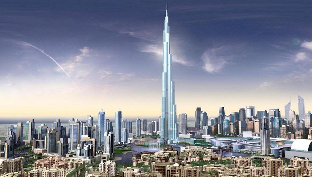 TIL HIMMELS: ABB skal levere strømfordeling til Burj Dubai, verdens høyeste bygning. I konkurranse med amerikanske leverandører har ABB vunnet en prestisjekontrakt.