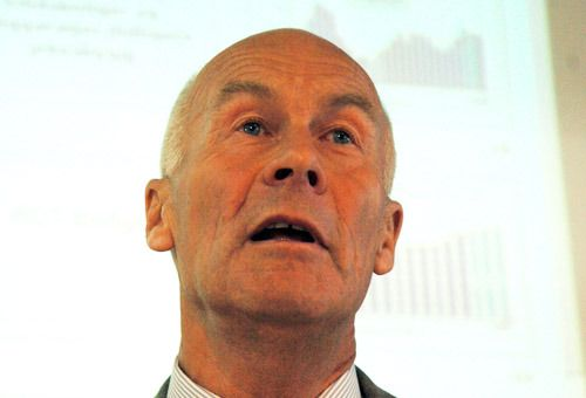 Sverre Larssen, adm.dir i Byggenæringens Landsforening (BNL).