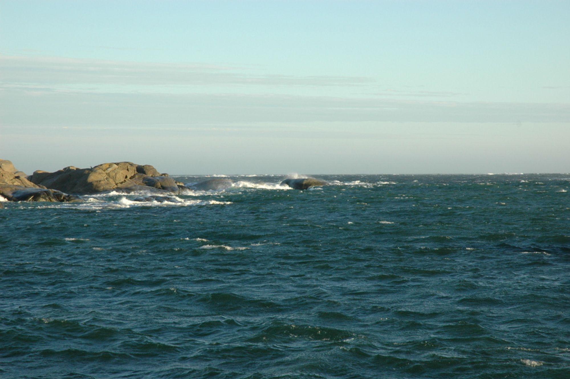 HOLMER OG SKJÆR: Norskekysten er uryddig feil i kartene kan føre til fatale hendelser.