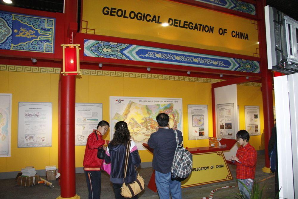 MANGE FRA KINA: 362 deltakere fra Kina på den internasjonale geologikongressen på Lillestrøm er nok flere enn vi har norske deltakere på OL i Beijing.