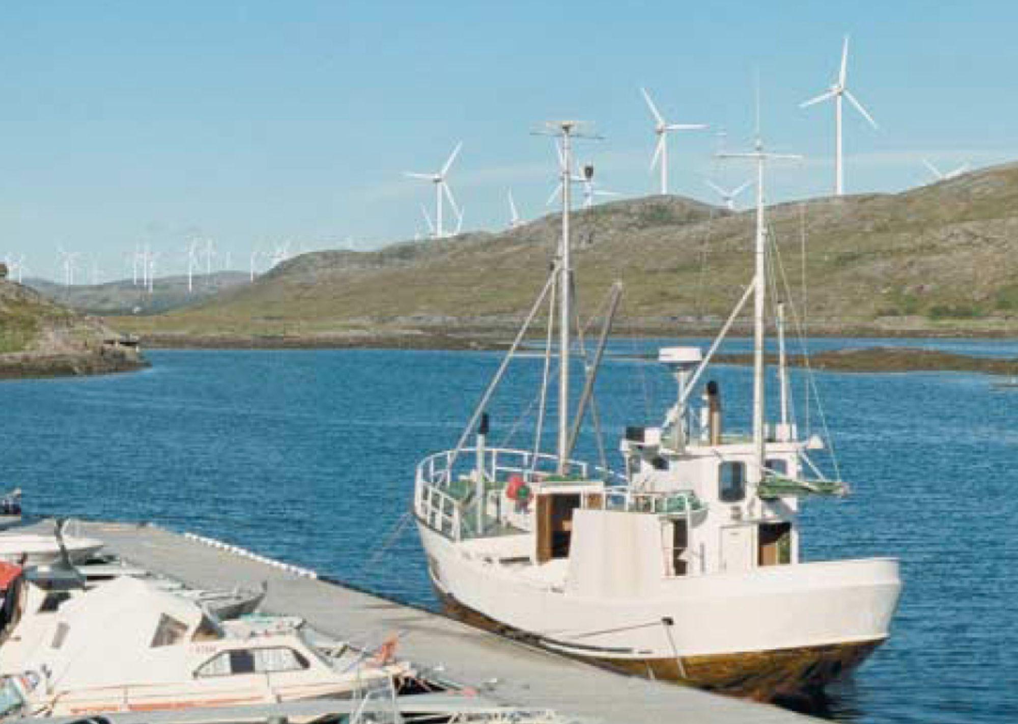 99 TURBINER: Ytre Vikna vindpark i Nord-Trøndelag er planlagt med 99 turbiner med til sammen 870 GWh samlet årsproduksjon.