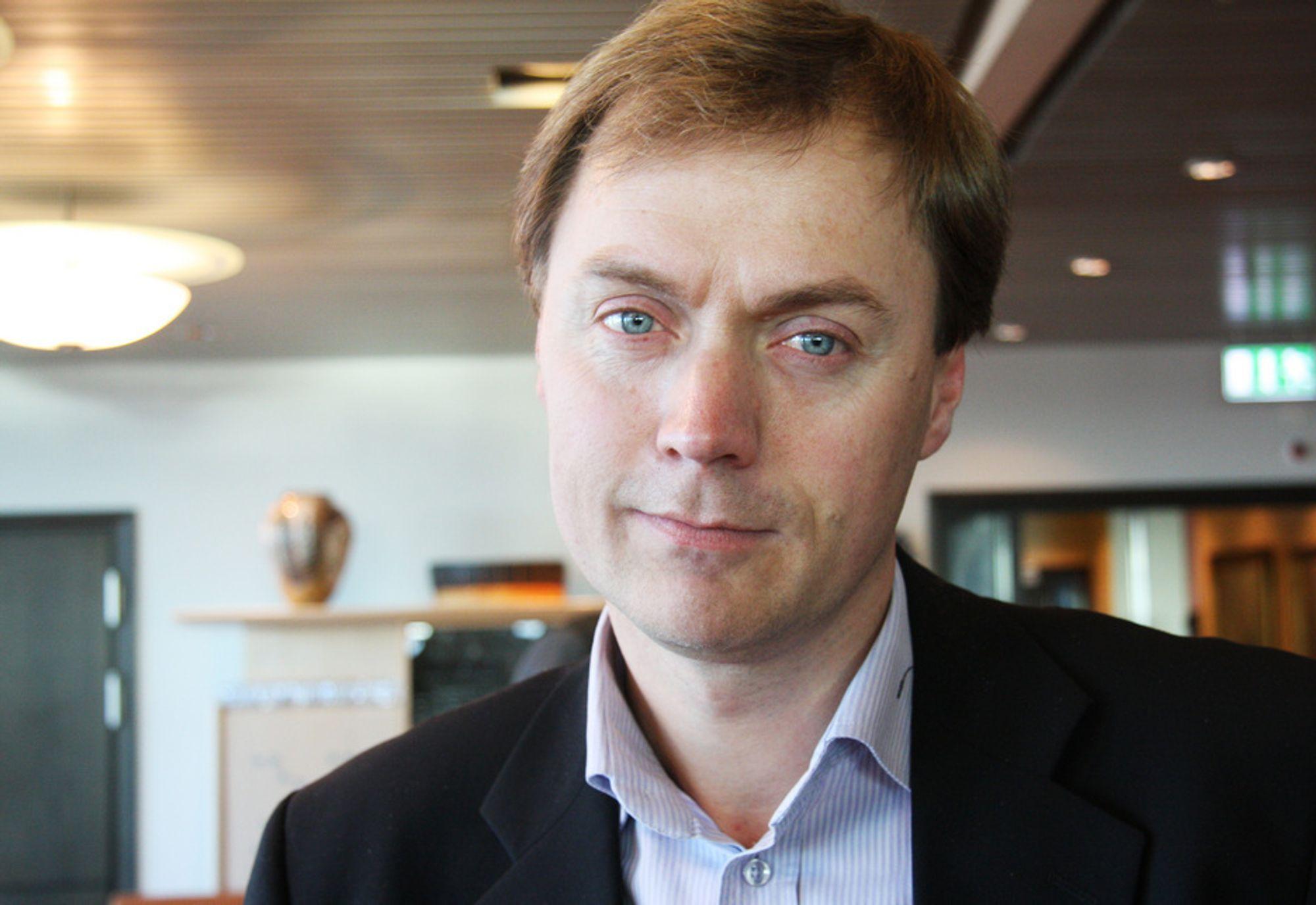 Bransjepolitisk direktør Knut Sunde i Norsk Industri advarer mot å tro at omsetningen og lønnsomheten i industrien vil komme tilbake på 2007-nivå med det første.