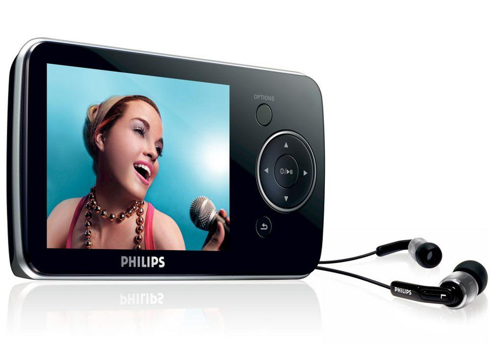 DYNAMISK: Philips GoGear SA52 kommer i fire utgaver, to med og to uten Bluetooth. Lyden skal være bedre enn noen gang.