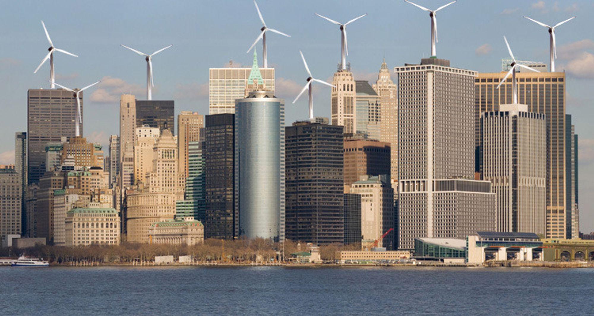 Vil ha vindmøller på Manhattan