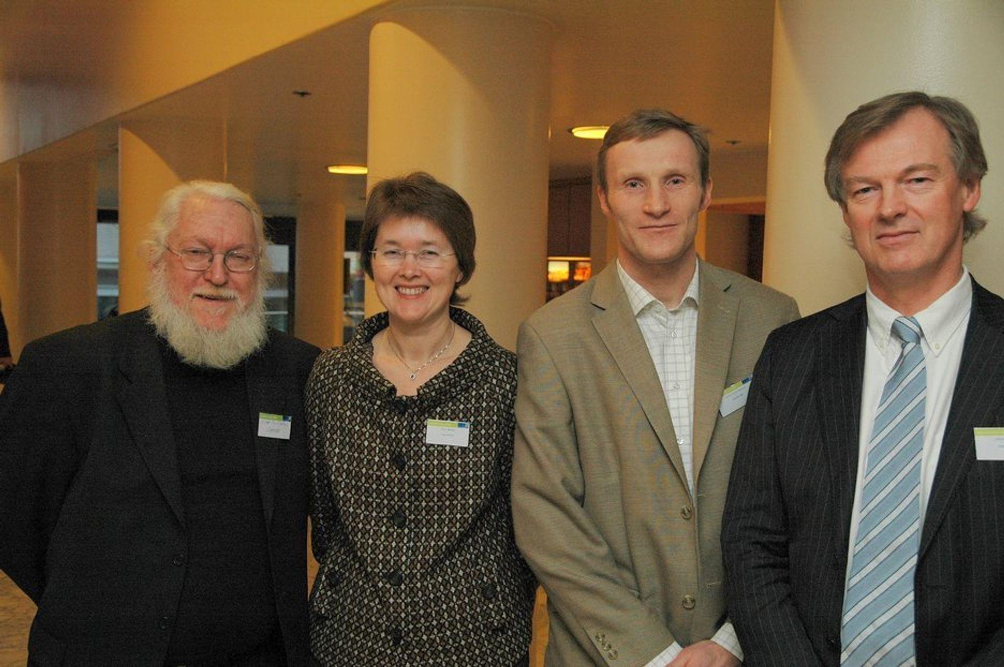 Energigründerprisen 2008 gikk til Cambi med Odd Egil Solheim, Merete Norli, Per A. Lillebø og Hans Rasmus Holte i spisen.