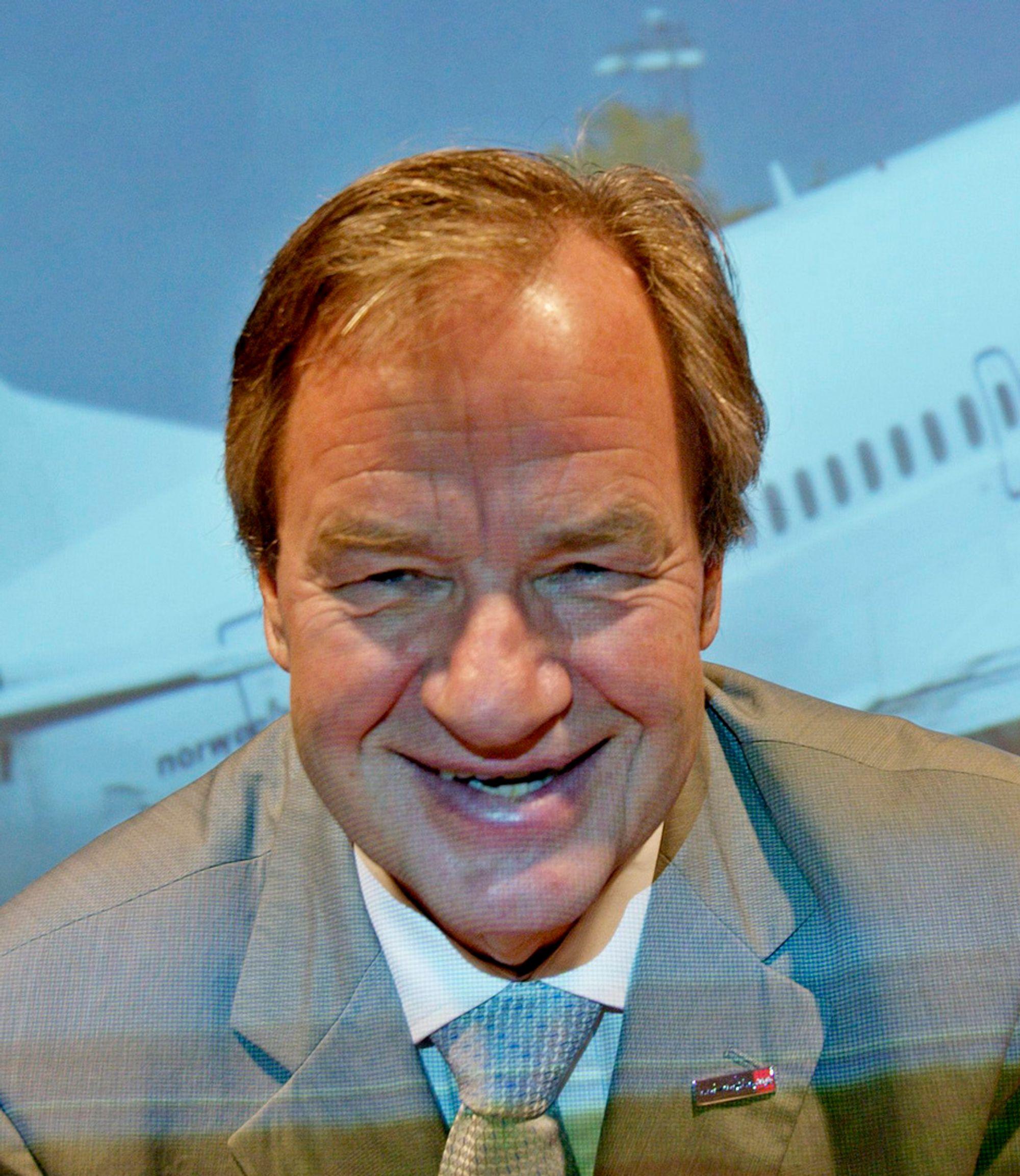 Bjørn Kjos, administrerende direktør i Norwegian.