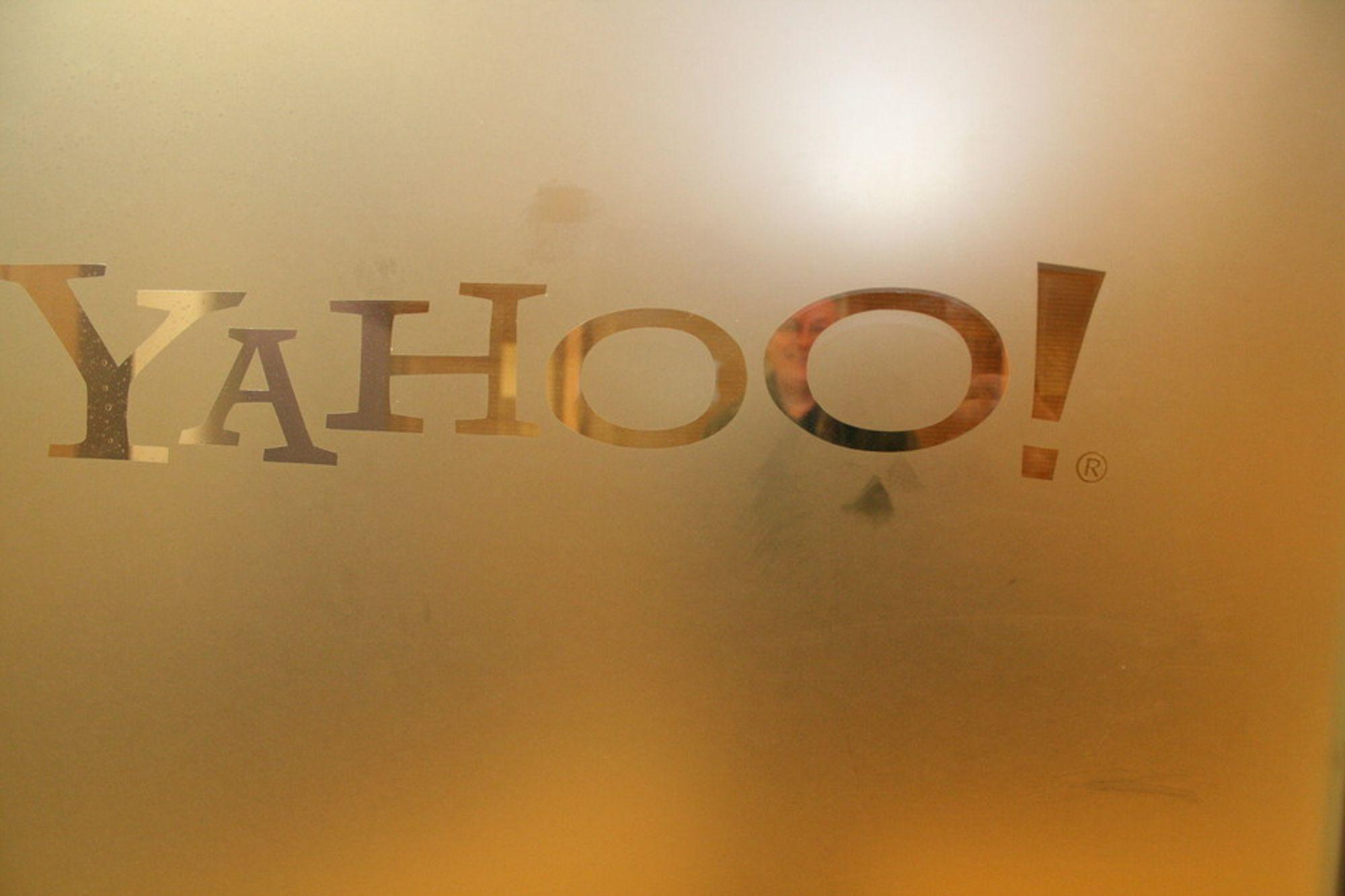 Yahoo, døra til Trondheimskontoret