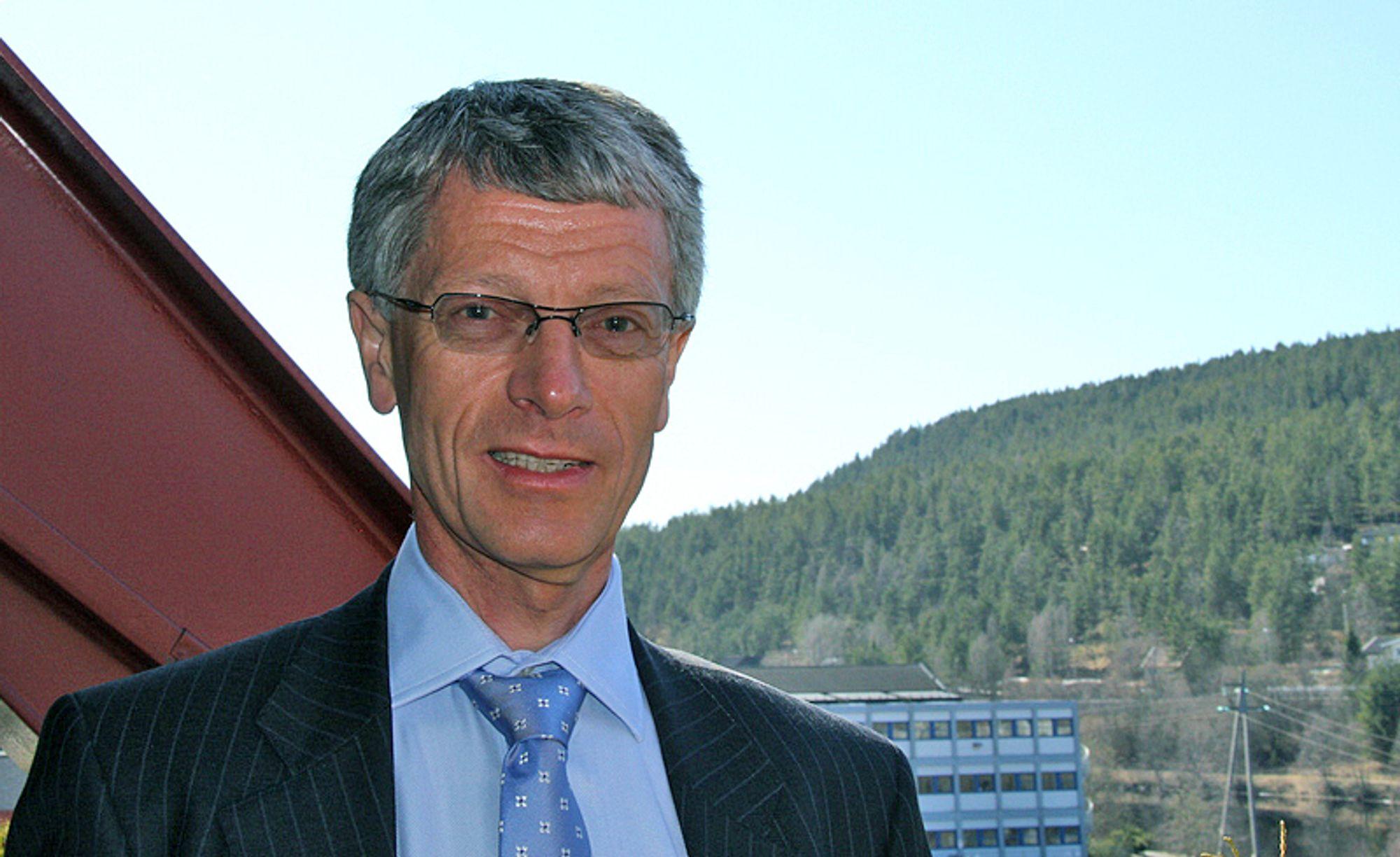 Olav Volldal er administrerende direktør i Kongsberg Automotive.