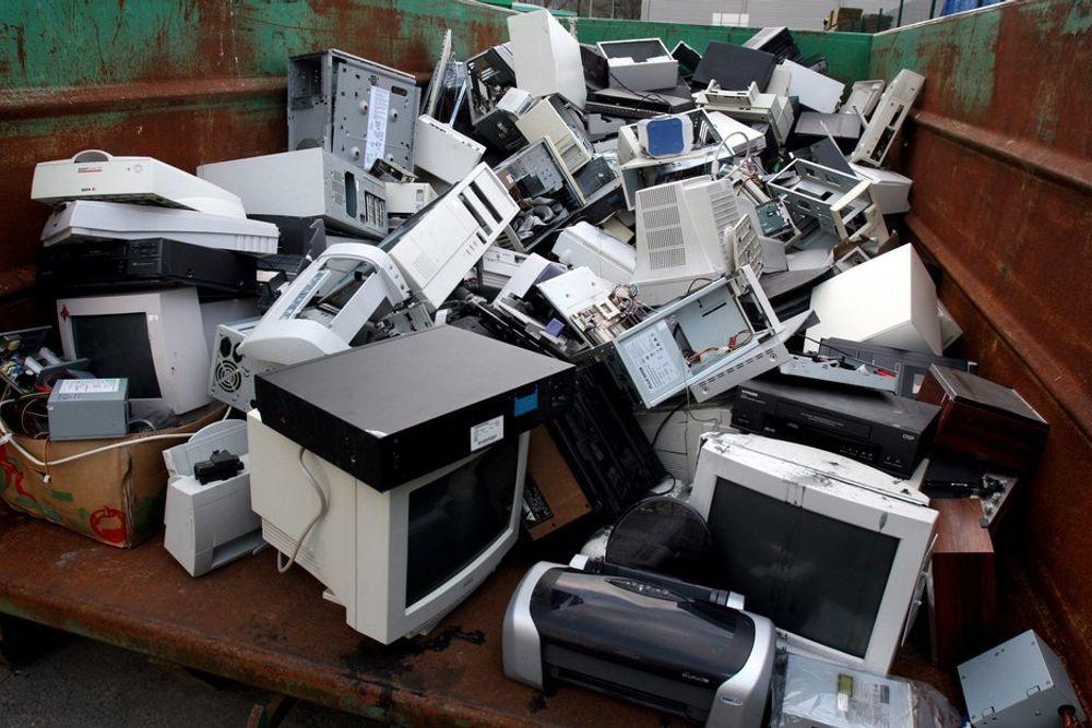 I løpet av året blir 180 millioner PC-er forkastet. 35 millioner av dem havner rett på fyllinga.