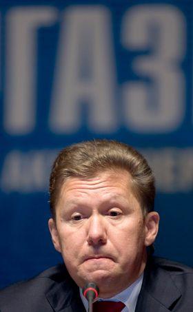 Gazproms Alexei Miller vil lede verdens største selskap.