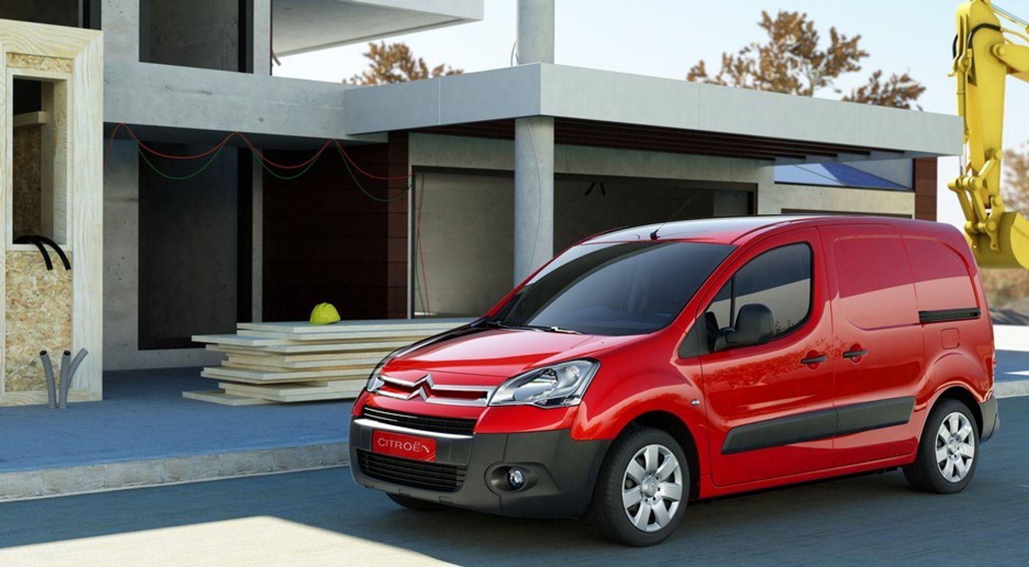 COMFY: Citroëns nye vare/personbil Berlingo II er komfortabel som en franskmann men jobber som en tysker.