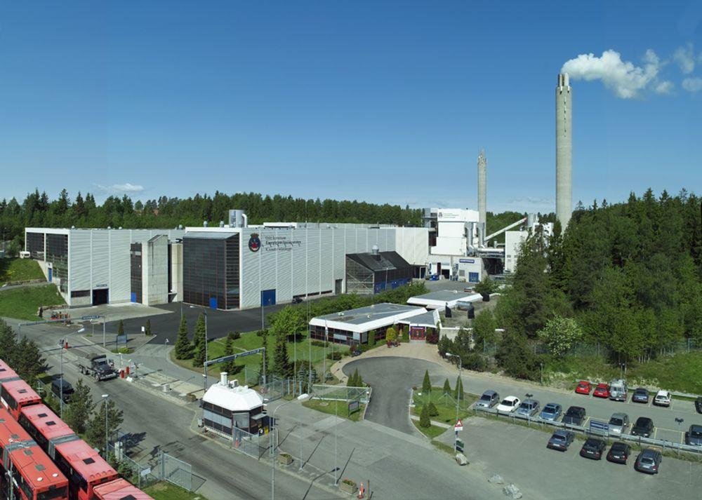 Her på Klemetsrud kan månelandingen gjenoppstå. Energigjenvinningsanlegget kan få fullskala CO2-fangst og -lagring.