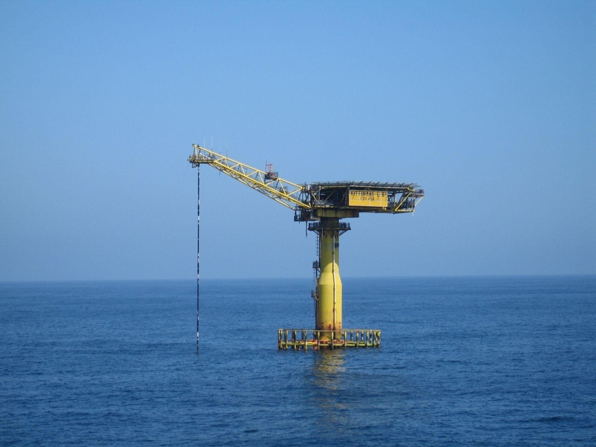 Lastebøyen ved Kittiwake-feltet skal fjenes av AF Decom Offshore for  Venture North Sea Oil Limited.