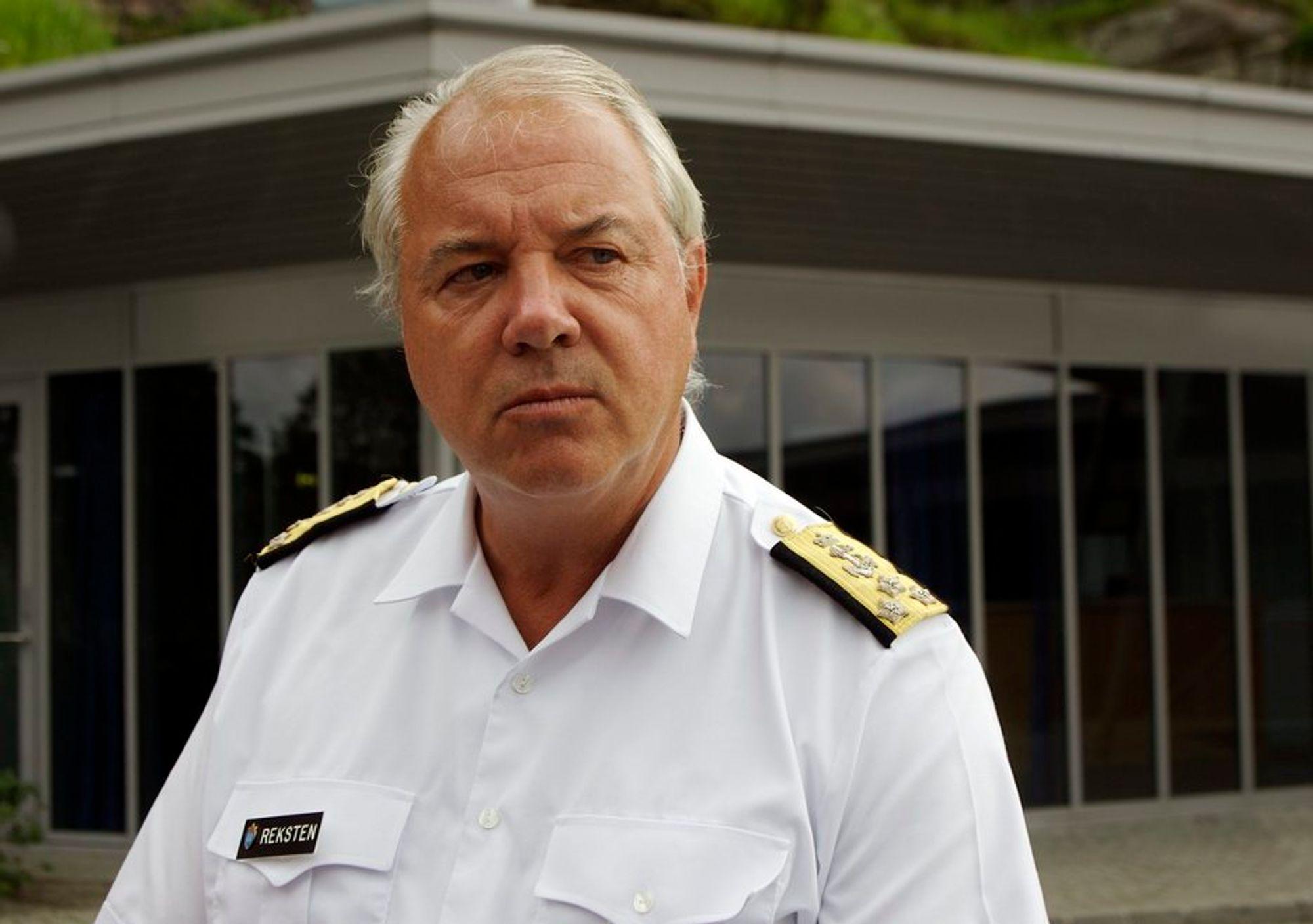 Jan Reksten, nylig fratrådt sjef for Fellesoperativt hovedkvarter.