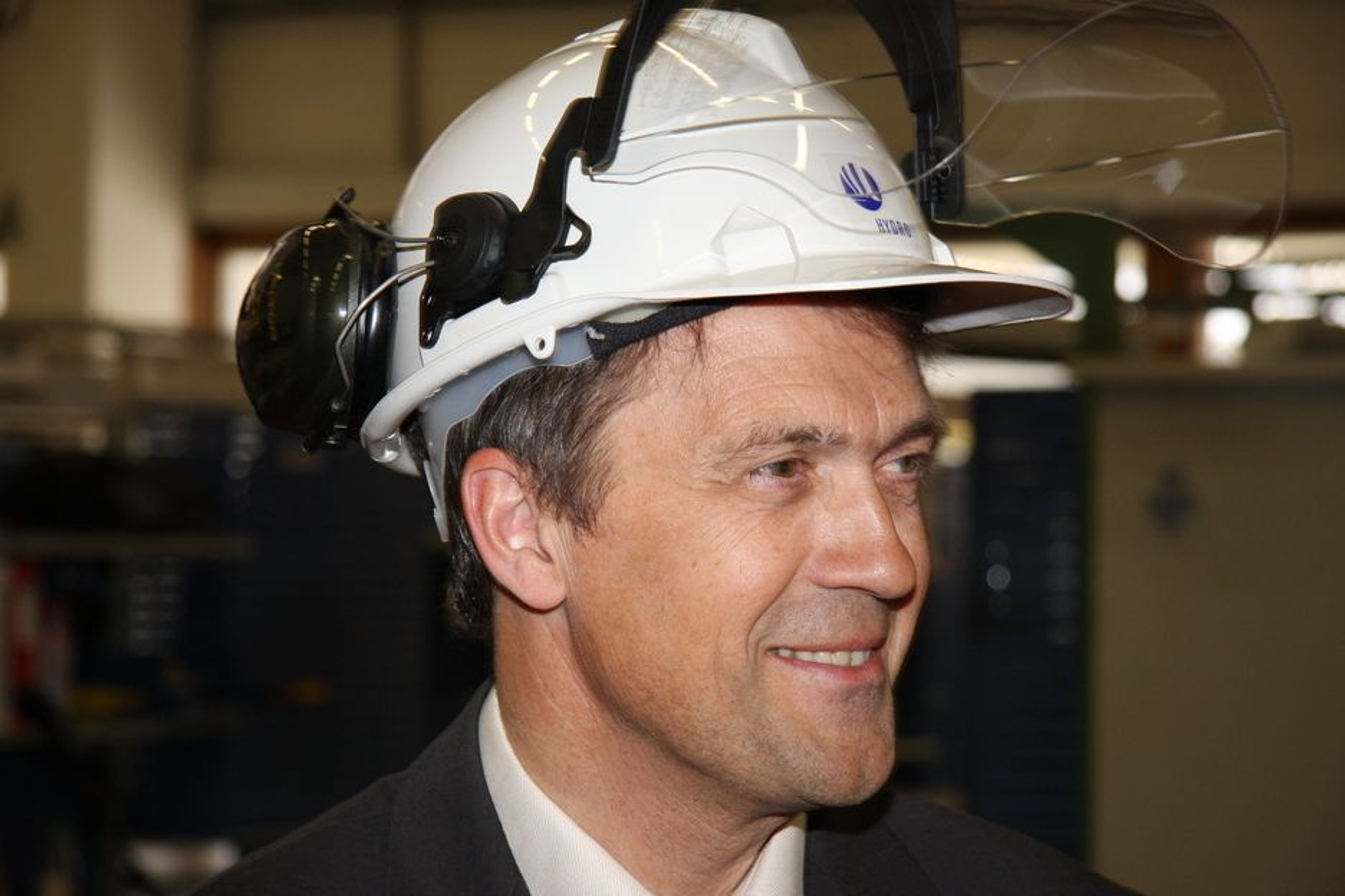 Eivind Reiten, avtroppende konsernsjef i Norsk Hydro