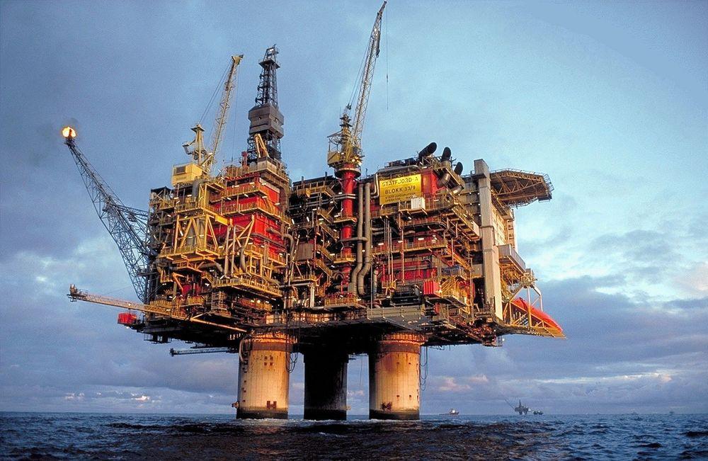 LENGE IGJEN: Det norske oljeselskap har lenge igjen til de kan drømme om slike plattformer som Statoil har på norsk sokkel.