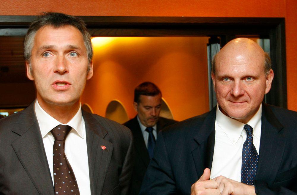 NOTIS: Steve Ballmer støtter norsk IE6-kampanje