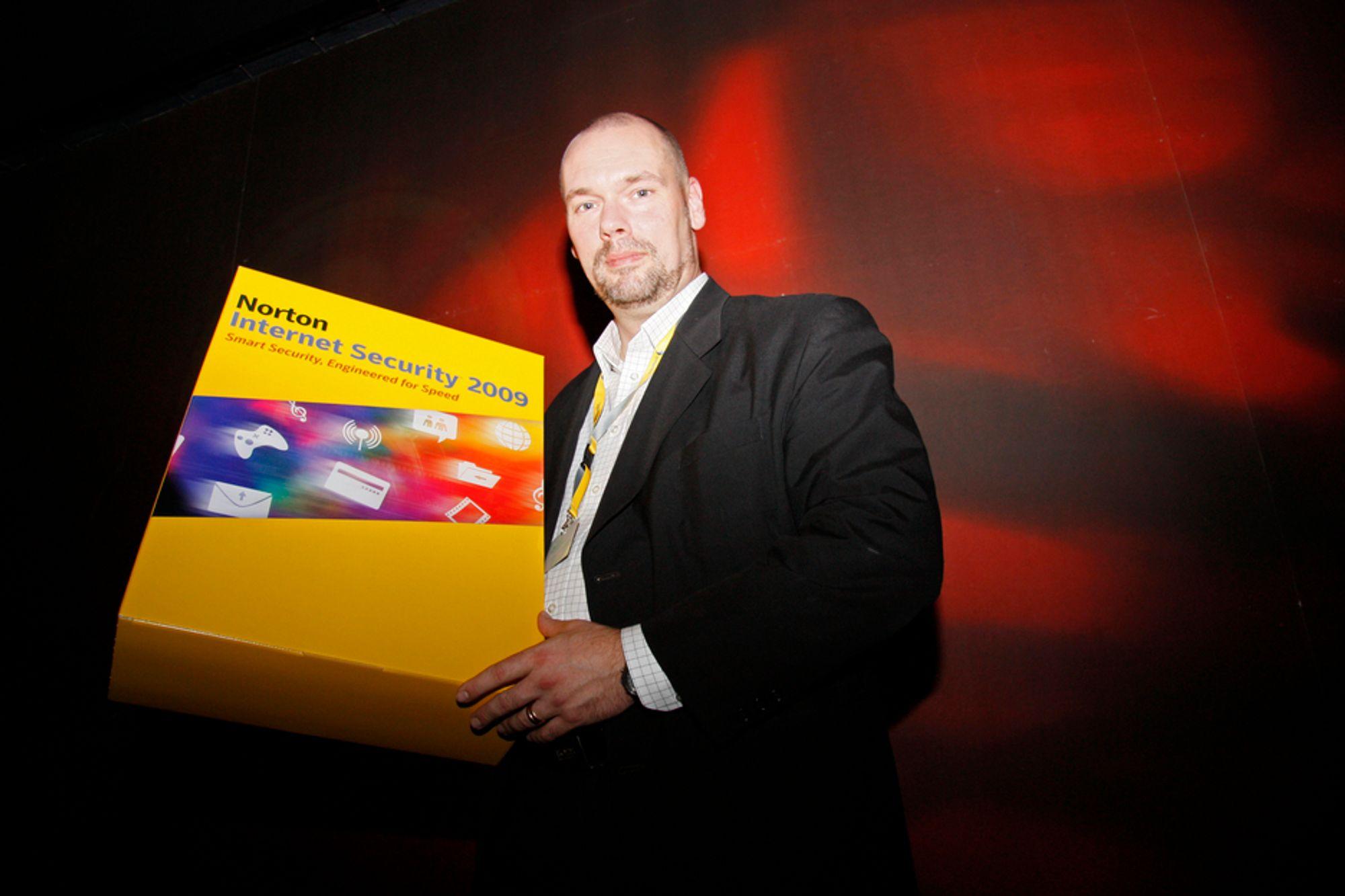 LETTERE: Sikkerhetsspesialist i Symantec, Per Hellqvist, lover en ny Norton som ikke ødelegger brukeropplevelsen på PC-en.
