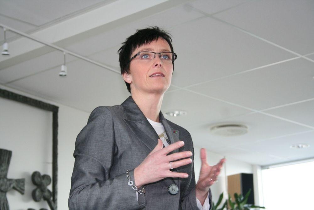 Fornøyd: SSBs resultater passer godt inn i fornyingsminister Heidi Grande Røys arbeid med å øke bruken av IKT.