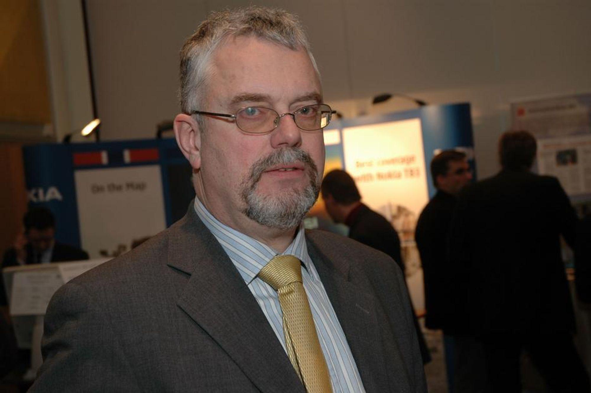 Nødnettsjefen Tor Helge Lyngstøl.