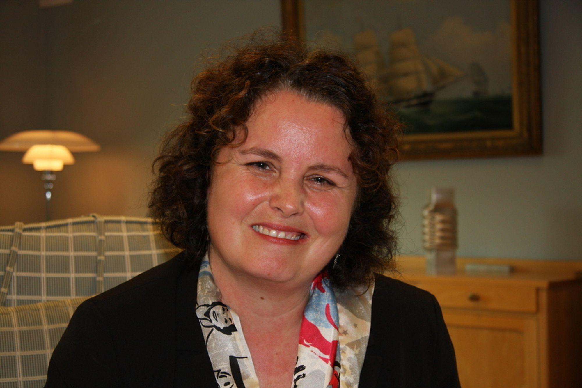 Nærings- og handelsminister Sylvia Brustad