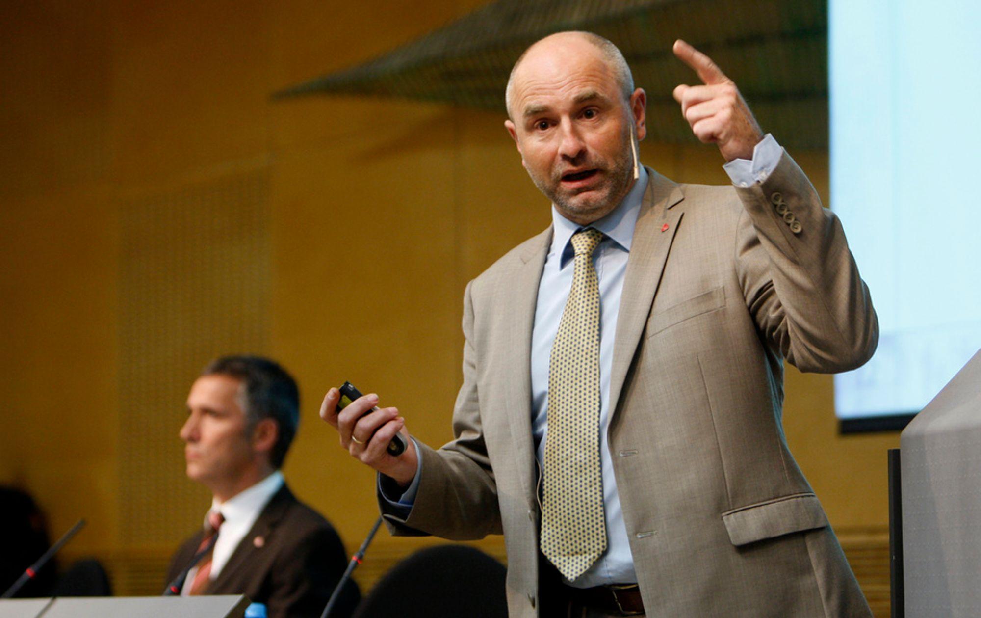 Arbeids- og inkluderingsminister Dag Terje Andersen.