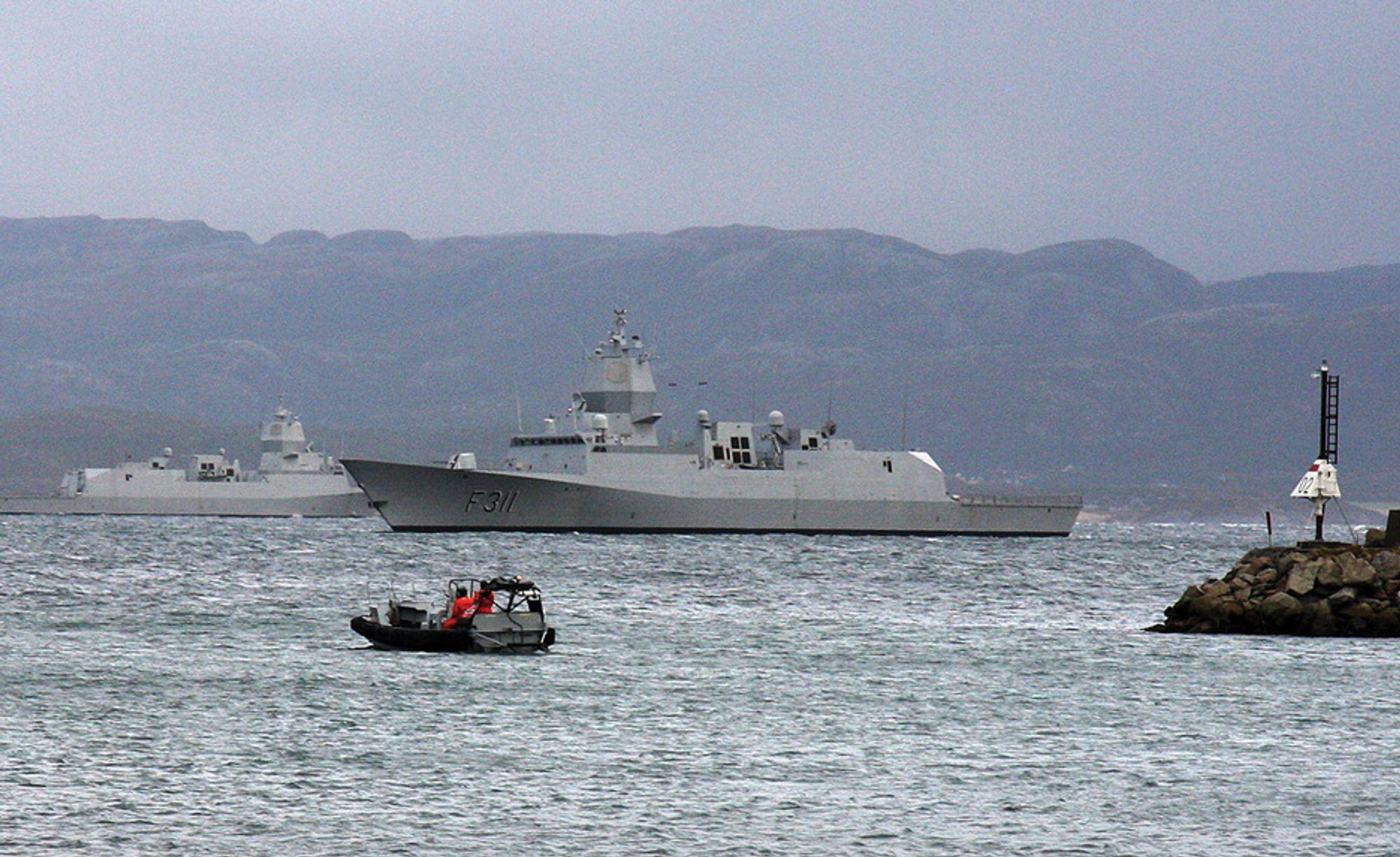 De nye Nansen-fregattene leverer 41 000 hestekrefter. Vekten er på 5 300 tonn.