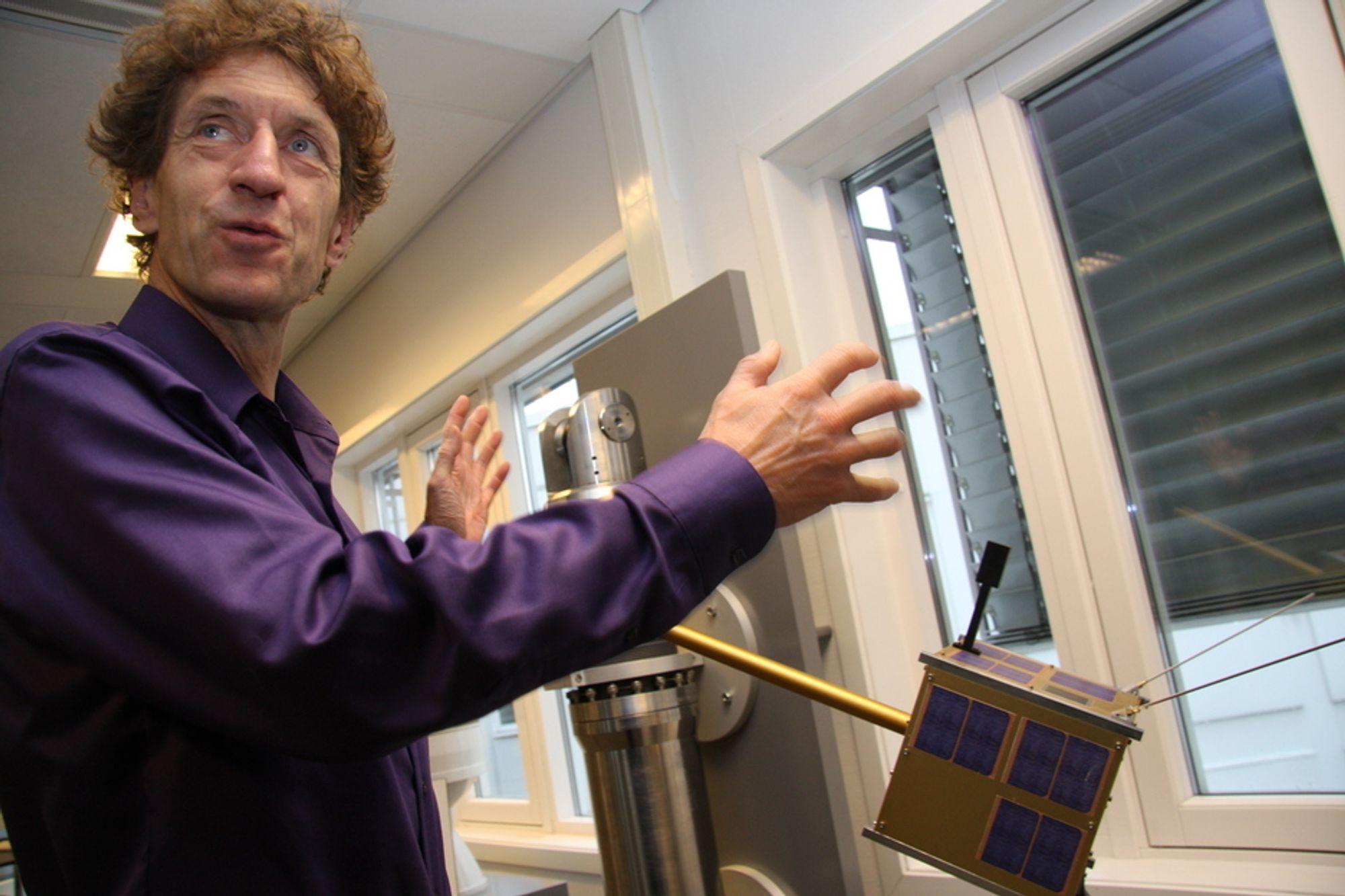 Milliondryss: Norsk Romsenters administrerende direktør Bo Andersen tror på økte norske bevilgninger til ESAs romprosjekter de neste årene.