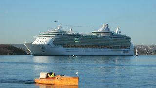 Verdens største og reneste cruiseskip