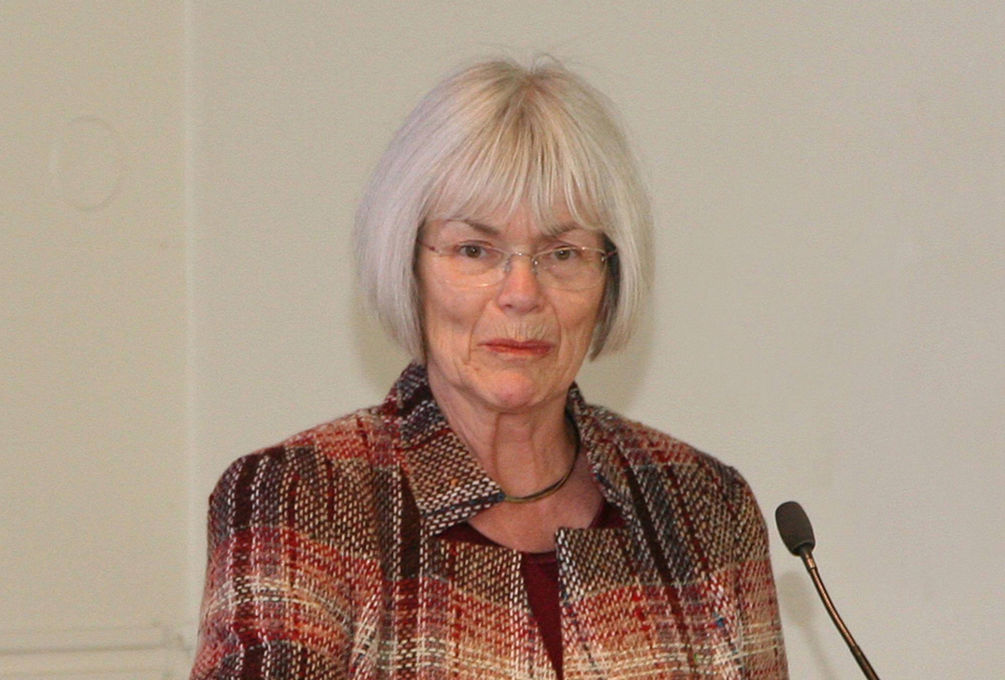 Forsknings- og høyere utdanningsminister Tora Aasland.