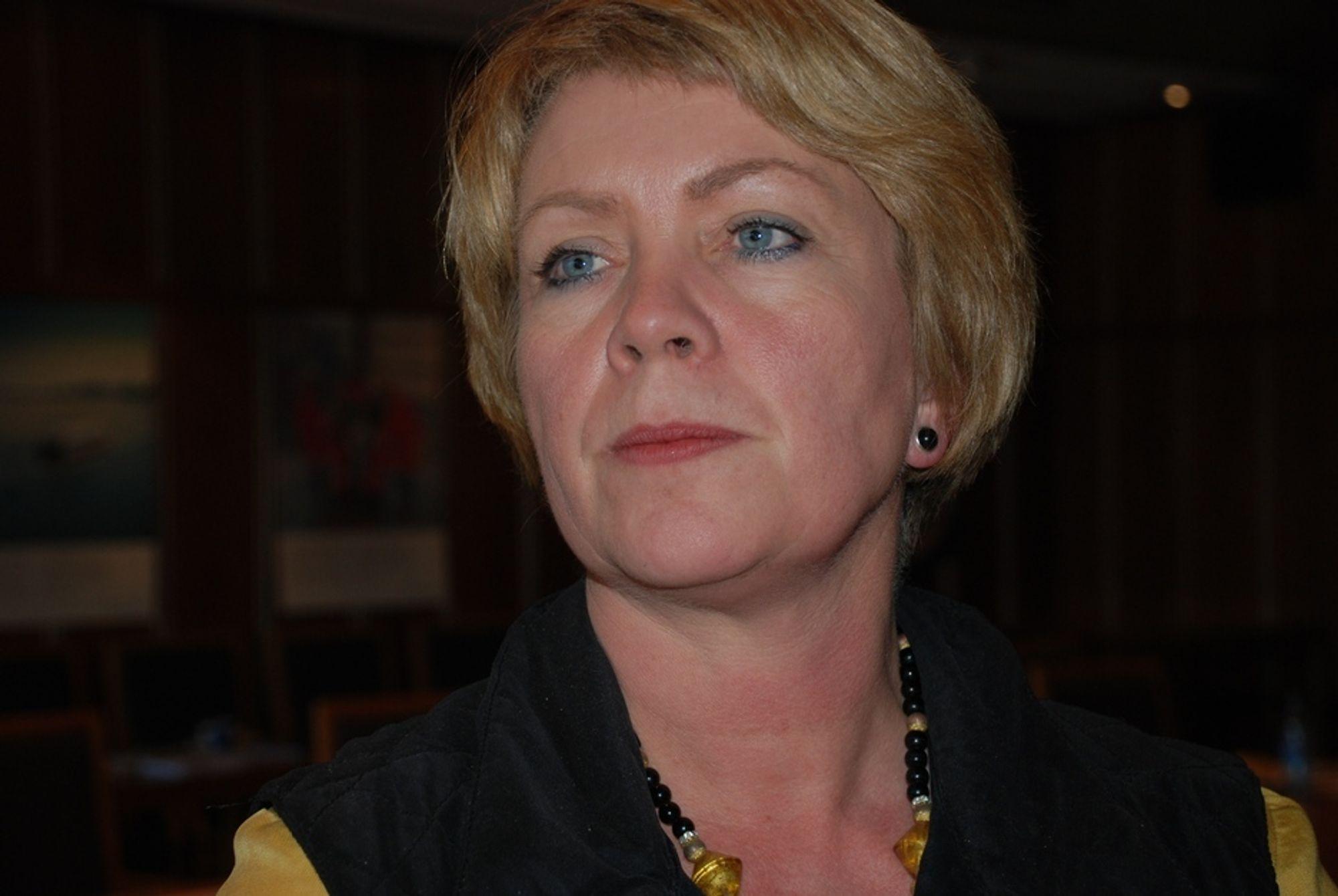 Olje- og energiminister Åslaug Haga, Energirådet mai 08
