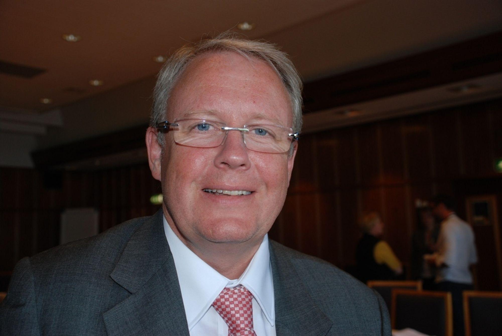 PÅ HANDLETUR: Per Otto Dyb i SIemens har kjøpt opp to betydelige aktører i subseamarkedet.