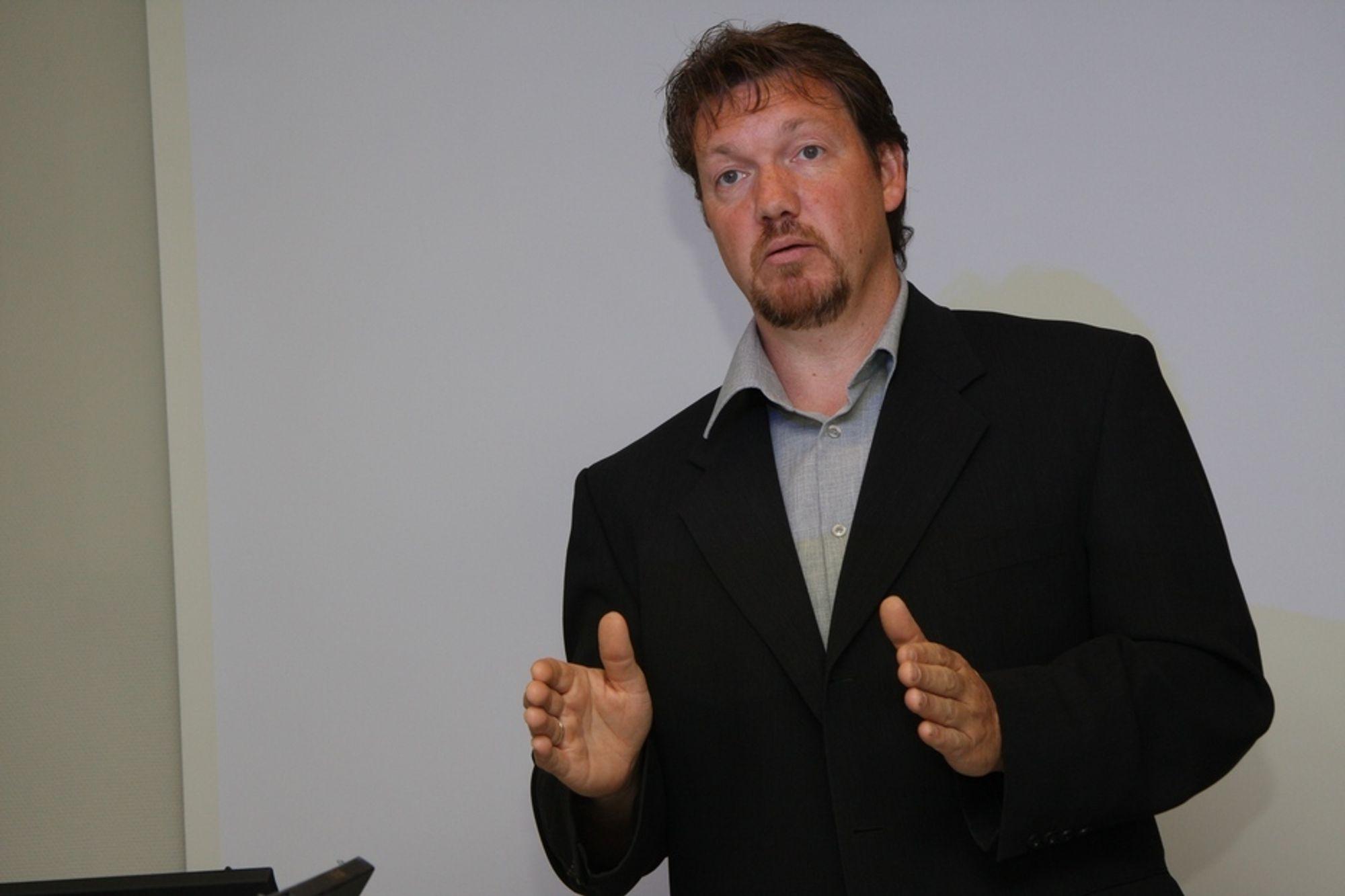 Salgssjef Nils-Ove Gamlem er spent på hvordan sømløs nettverksjobbing har utviklet seg om tre år.