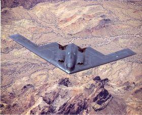 Her er jomfruturen til B-2 Spirit i 1989.