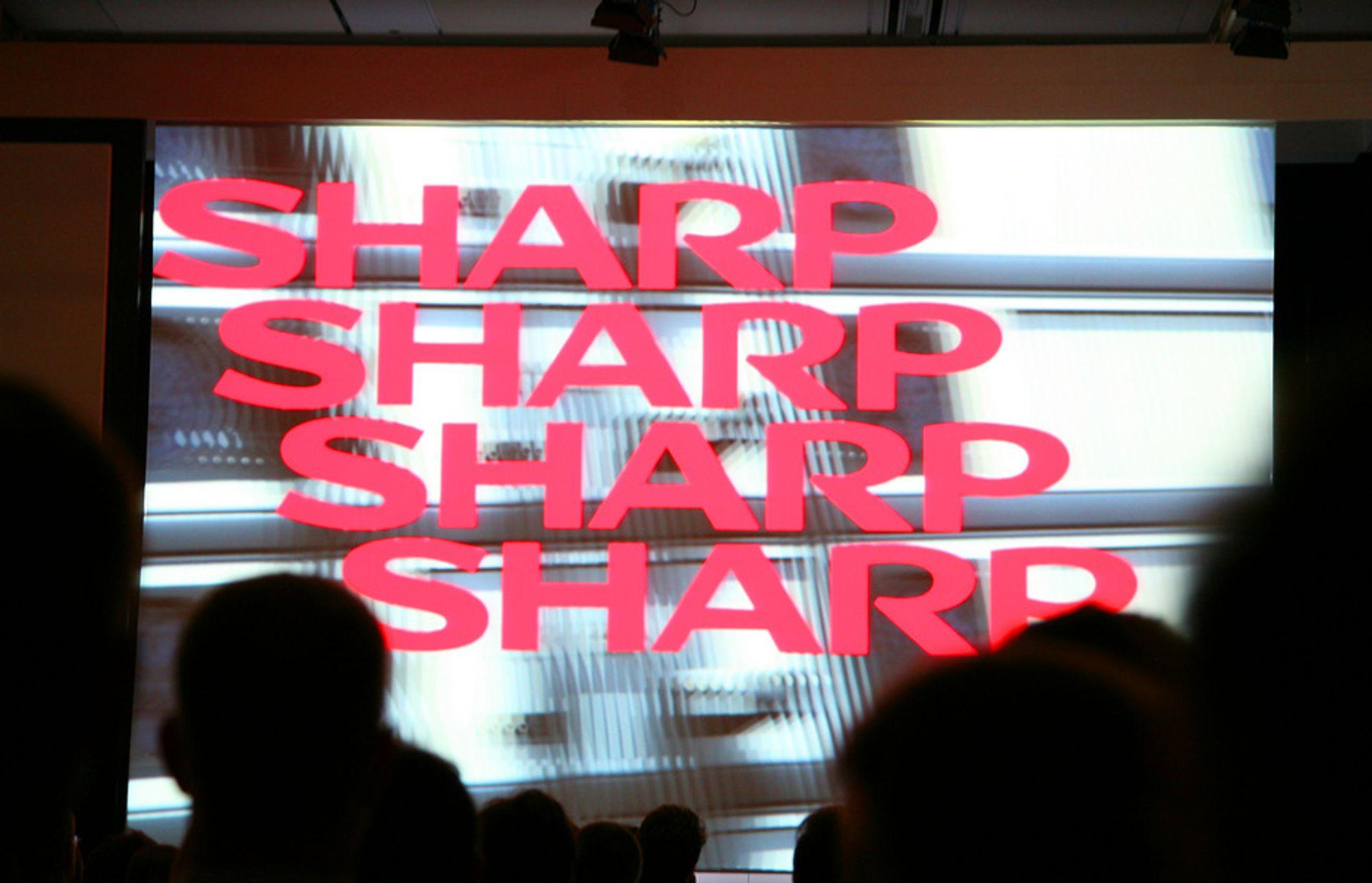 Sharp, IFA-messa i Berlin.