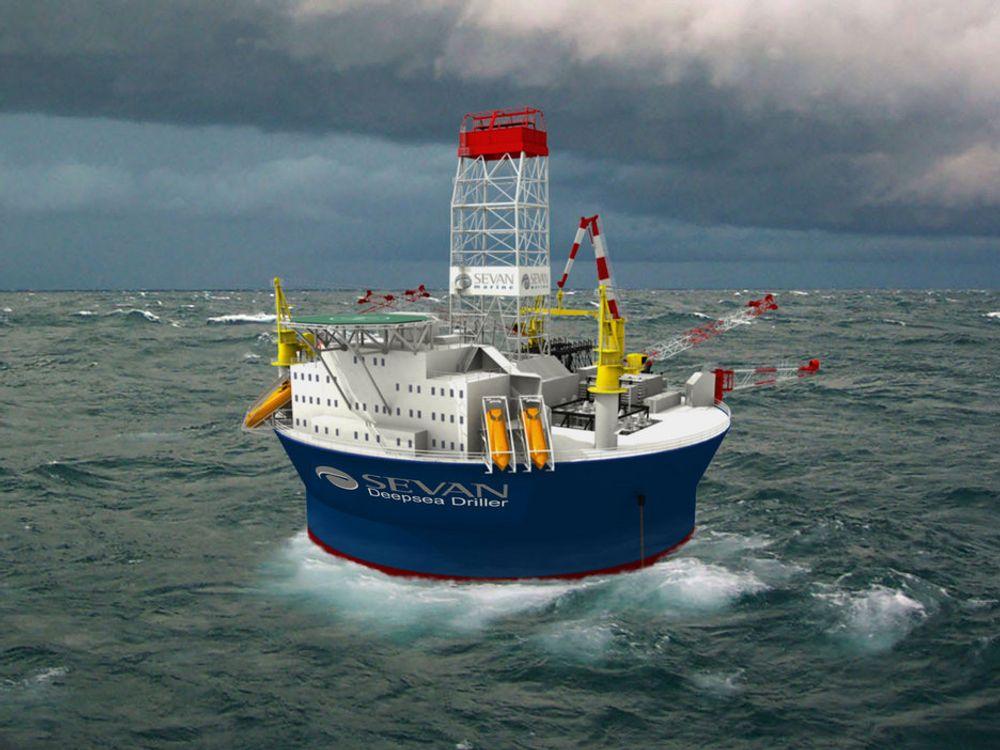 NY STANDARD: Sevan Marine regner med at deres nye borerigg som Petrobras skal bruke i Meksikogolfen åpner et nytt marked for det norske selskapet.