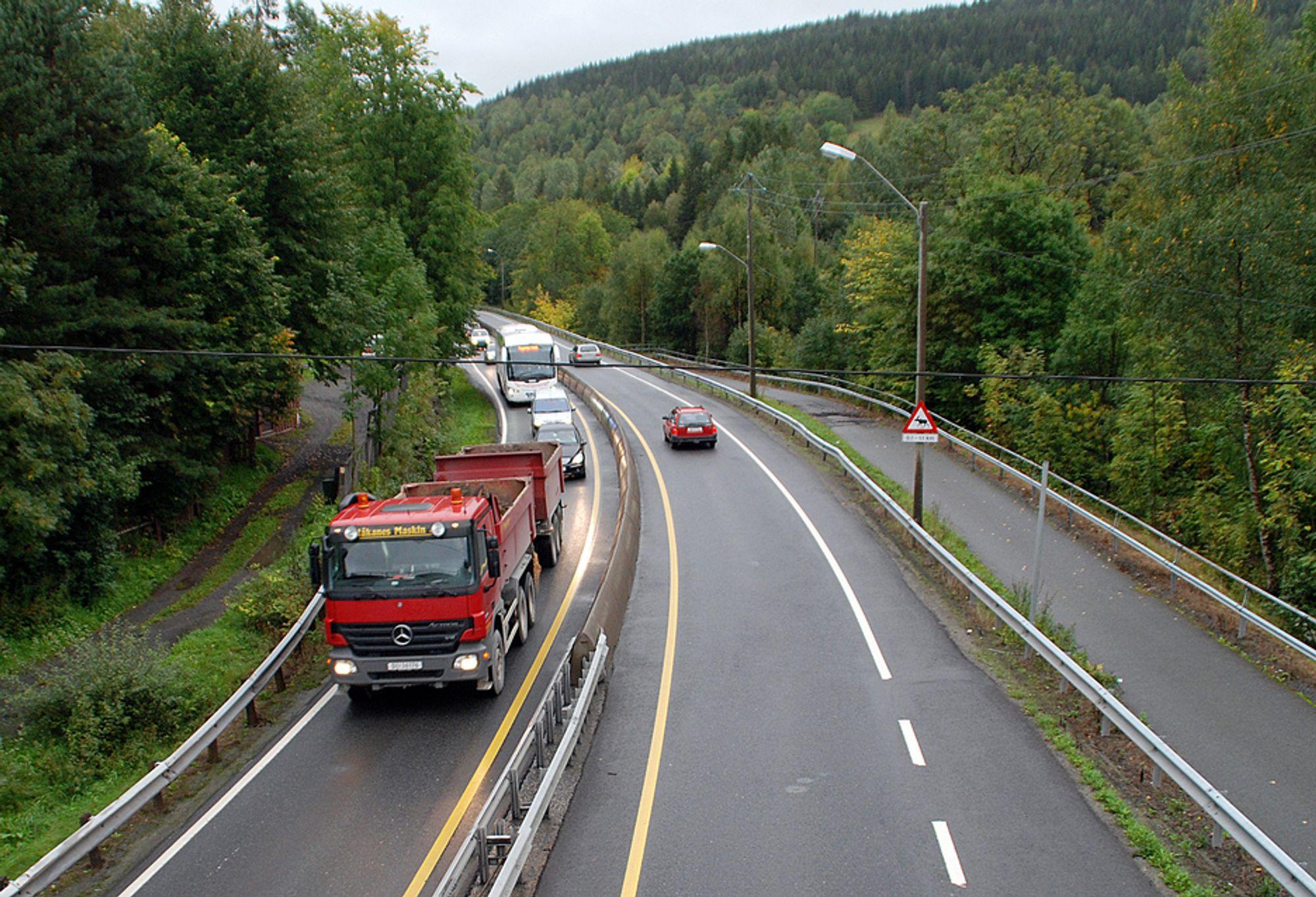 DÅRLIG UTVIKLING: I 2001 hadde Norge færrest trafikkdrepte i Europa, men nå er trenden snudd på hodet.