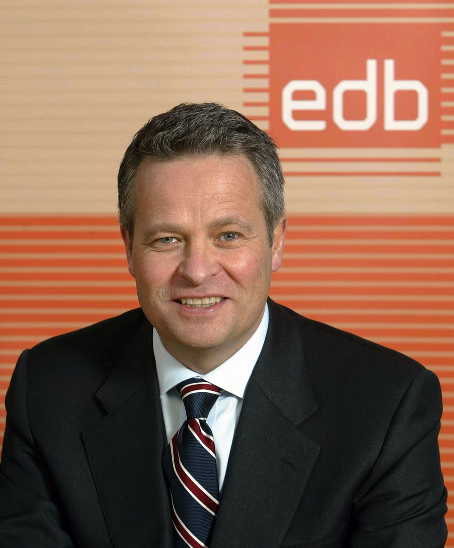 Konsernsjef Endre Rangnes, EBB Business Partner