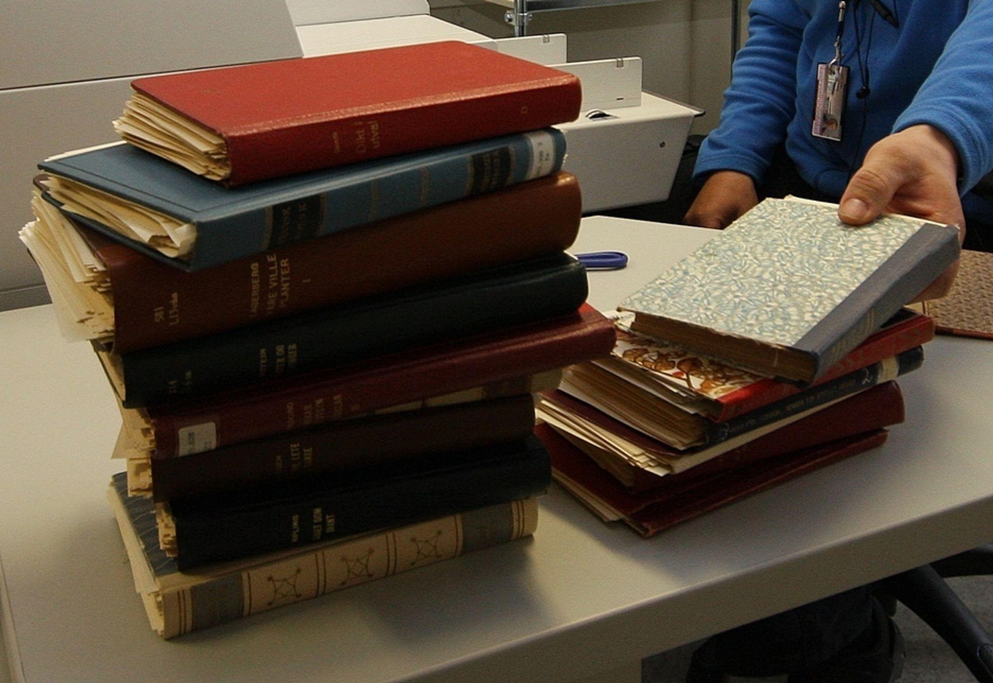 Bøker, bok.